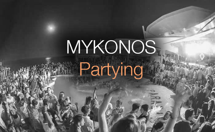 Mykonos Partying Large