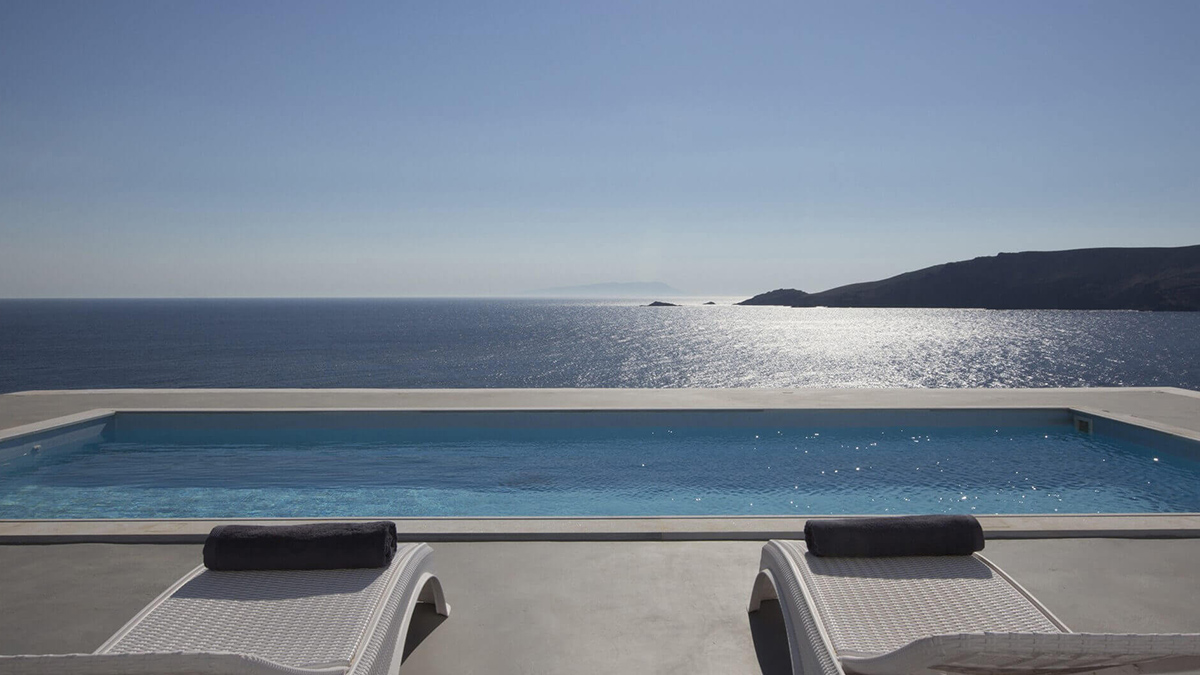 villas pristine aegean views