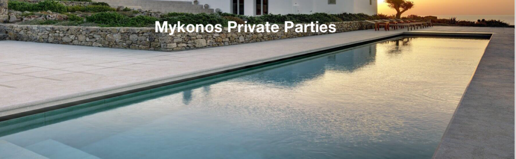private parties mykonos