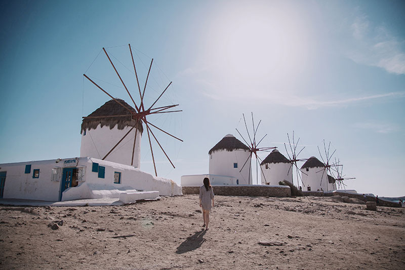 Mykonos Weather - when to go to mykonos island